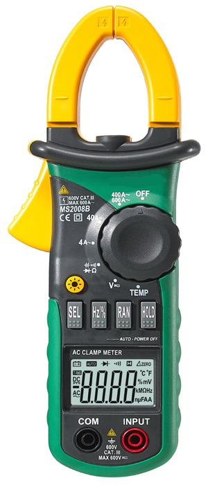 Mini Clamp Meters : Mini digital clamp meter ms b meters