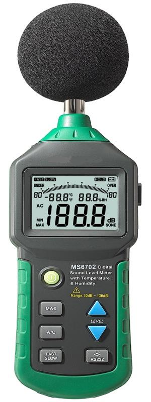 Digital Sound Meter : Digital sound level meters ms